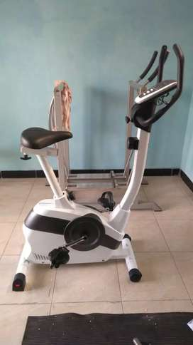 Sepeda magnetik statis tanpa perawatan ( central olahraga )