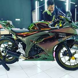 JUAL MOTOR SUZUKI GSX R 2018 FULL MODIFIKASI