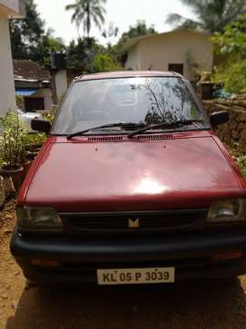 2003 modal showroom condition maruthi 800