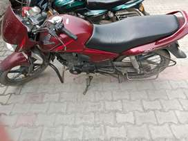 Cb shine in good condition. 2 km daily distance.