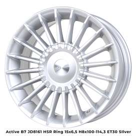 velg racing hsr type active ring 16x7 h8x100-114,3 silver