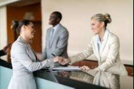 opening for Receptionist