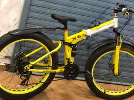 New fat tyre with foldable  bicycle sale