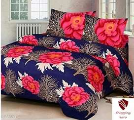 King size Jaipuri Double Bedsheet