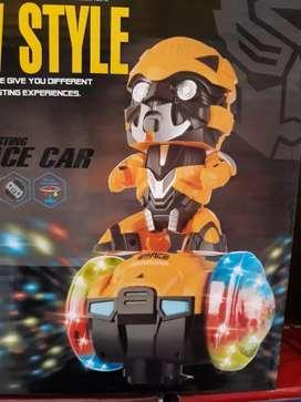 Robot dance transfomer,iron,spidermen ,dll