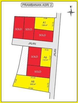 PROMO 12 x Bayar 0% Kapling Prambanan Asri II Dekat Jl Jogja Solo