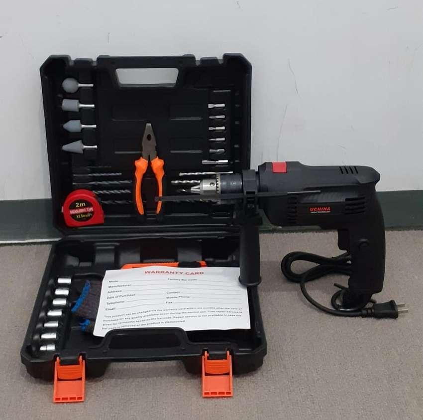 Mesin Bor Impact Drill 13mm UCHIHA JAPAN 0