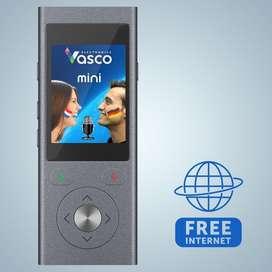 Vasco Mini2 2019 voice trabslator with free international sim card
