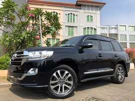 Land Cruiser 4.5 Diesel UK 2013 Rubah New Model 2019 Black Miles30rb
