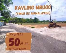 TANAH KAVLING DI MBUGO 67 JT SHM