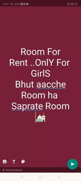 Azad nagar location ..good big room