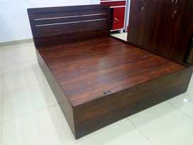 sell sell sell new wooden shade double bed at factory price