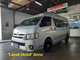 Toyota Hiace Commuter Line 2.5 Manual 2014 Silver Pajak Panjang