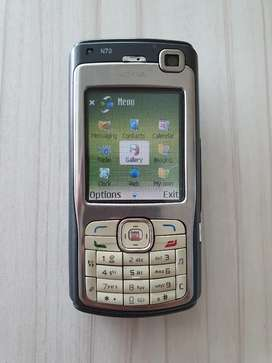 Nokia N70 XpressMusic casing original  mulus All normal siap pakai