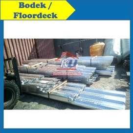Floordeck Bondek Untuk Alas Cor Sedia Wiremesh Spandek Besi Beton Juga