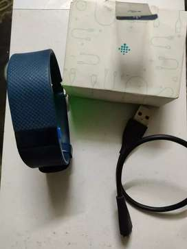 Fitbit Charge HR blue Wristband in excellent working condition