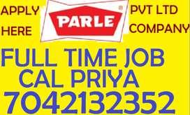 PARLE Company hiring full time job store keeper helper supervisor call