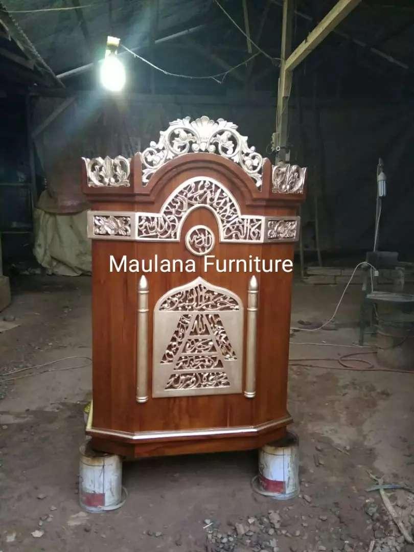 Mimbar furniture podium banyak pilihan 0