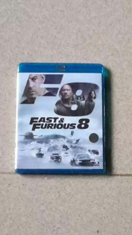 Bluray Fast Furious 8.