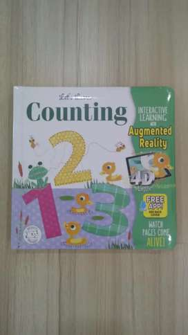 Let's Learn - Counting 123 Augmented Reality Book