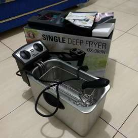 OXONE SINGLE DEEP FRYER PRELOVED