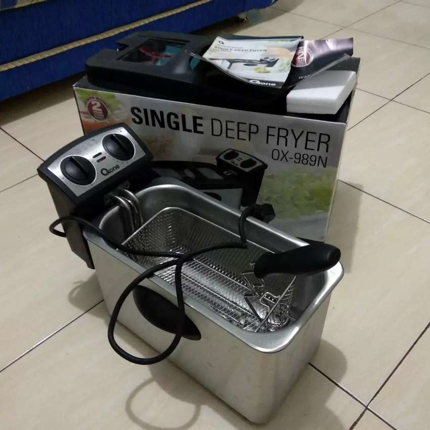 OXONE SINGLE DEEP FRYER PRELOVED 0