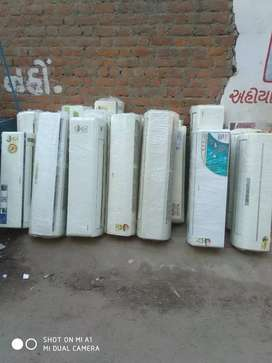 Split AC 1.5..2ton 100/nos ac available   all types of