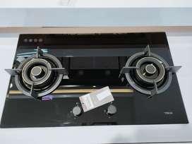 TEKA kompor tanam 2 Tungku bisa cicilan tanpa CC proses cepat 3 menit