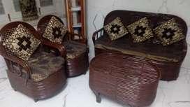 Beth ka sofa ( tan brown )