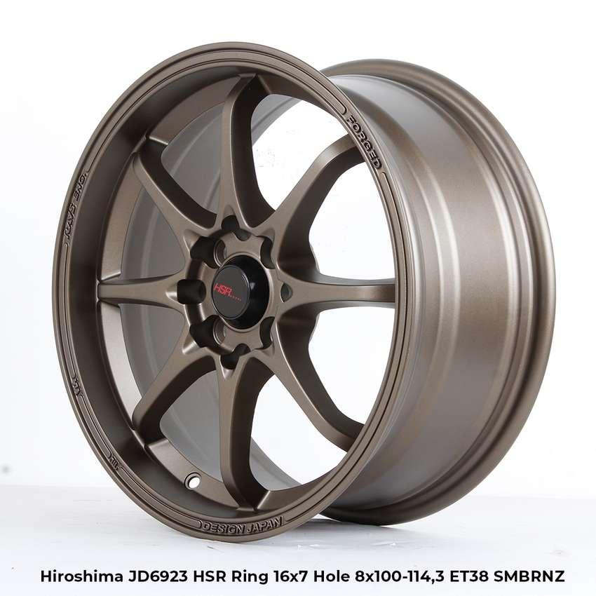 VELG RACING HSR R16X7 H8X100-114,3 ET38 SMB 0