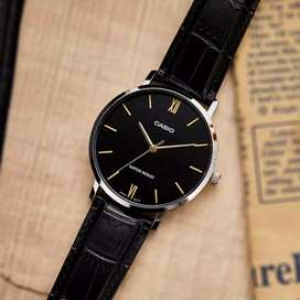 Jam tangan Casio black viral original