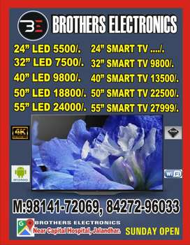 Samsung 50inch smart android apps led tv all sizes available