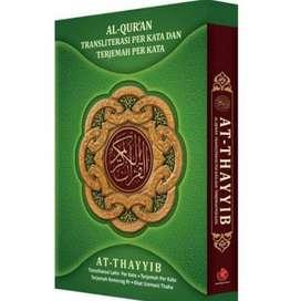 AL QURAN AT TAYYIB TRANSLATE PER KATA TERJEMAH TERMURAH