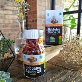 Kapsul minyak habasy habbatussauda herbal segala penyakit kios madu
