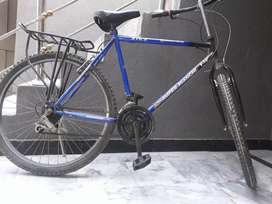 Cycle with new tires and break