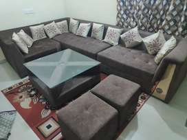 Luxury Sofa , 8 Seater for sale , New Condition