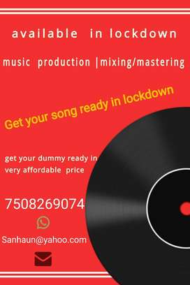 get your music done in lockdown