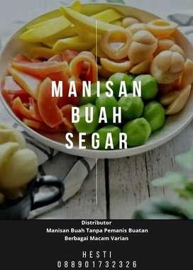 DISTRIBUTOR MANISAN BUAH SEGAR (OPEN RESELLER)