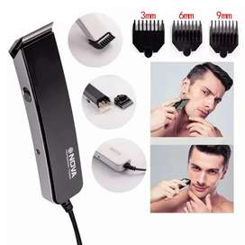 Nova (nh-216) professional hair clipper with 3 Adjustable Blades