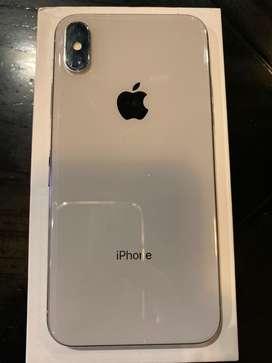 Iphone X Silver 64 GB Ex Ibox