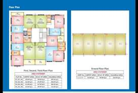 460 sqft carpet area 1 bhk flat available in lohegaon