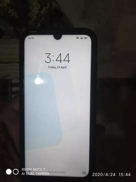 Redmi note 7pro 6/128 scratch less mobile