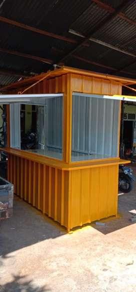 Gerobak boath container