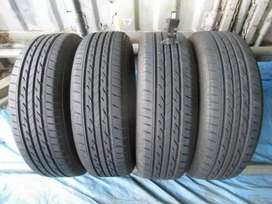 Tyres set 195/65/R/15 Bridgestone Nextry 9/10 condition