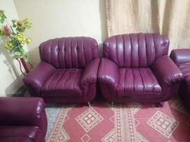 Lether sofa