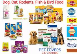All major brand Pet Food, Nutrients, Accessories and Aquariums.