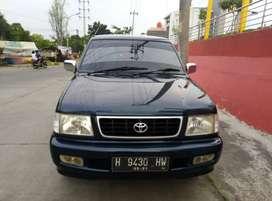 Kijang Kapsul LSX Diesel 2001 Biru Metalic Mulus Istimewa
