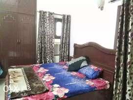 1 + 1 BHK flat fully furnished