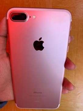 iPhone 7 Plus 128GB Rose Gold Ex ibox