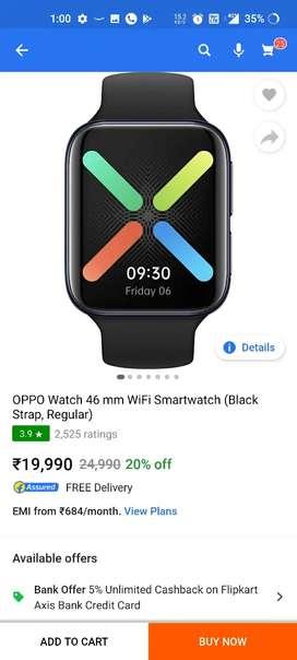 OPPO Smartwatch 46MM wifi just Opened